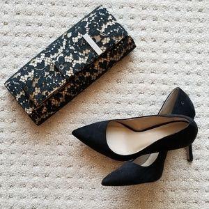 Saks Fifth Avenue Black Heels - Size 6.5
